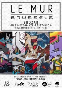 Le MUR Brussels #bozar - copie