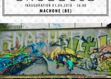 Machone @ Le M.U.R. Brussels